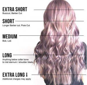 hår længder
